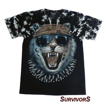 Koszulka motocyklowa SurvivorS RV68 WILD CAT