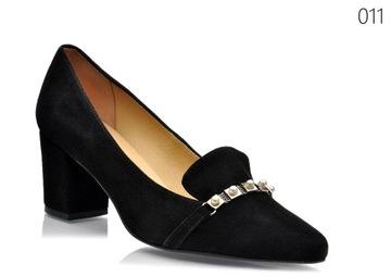 allegro buty damskie na klocku