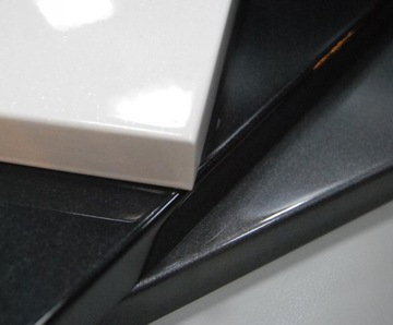 Лакированные фасады, фасады мебели белый глянец