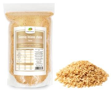 GOLDEN LINSEED NATURAL чистое зерно 1кг