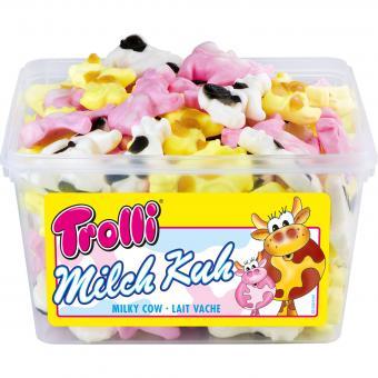 Желейные помадки Trolls Milch Kuh Jelly Fudges 150 шт.