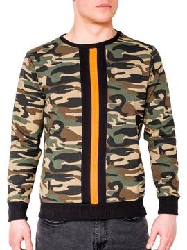 Bluza męska Moro Sport Odzież Męska XL szary Bluzy męskie