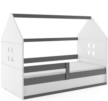 Доми1 кровать 160х80 Домик + каркас + детский матрас