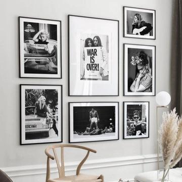 Фрида Леннон Война окончена Монро Хепберн плакат формата А3