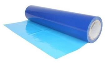 Самоклеющаяся защитная пленка синяя 50см / 75м