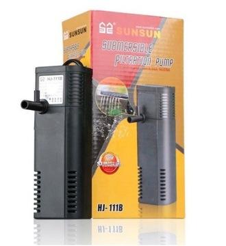 Внутренний фильтр для аквариума 30л 200л / ч HJ-111B