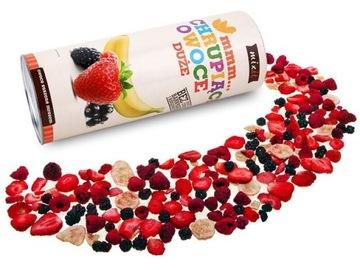 Сублимированные фрукты MIXIT клубника малина 150г