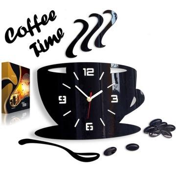 Часы настенные для кухни CUP 3D EFFECT 12 COLORS