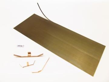 Пружина листовая для изготовления контакта. 70х180 / ПП3А