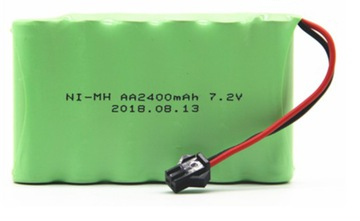 Аккумулятор 7.2V 2400mAh. Батарея NI-MH AA для радиоуправляемых машин.