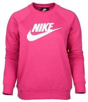 Bluza Nike W NSW Hoodie FZ JRSY czerwona 614829 619