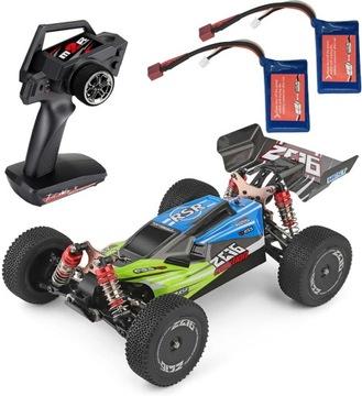 Машинка на радиоуправлении WL Toys 144001 скорость 60 км / ч 2x AKU