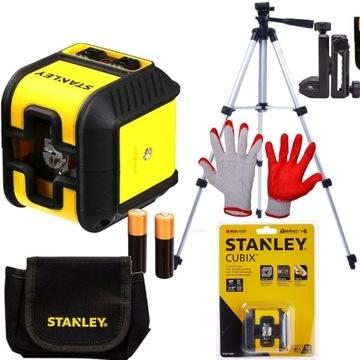 STANLEY Cross Line Laser CUBIX 2 Spirit Level 77-498