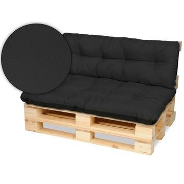 Поддон мебельные подушки скамейка 120x80 + 120x40 черный
