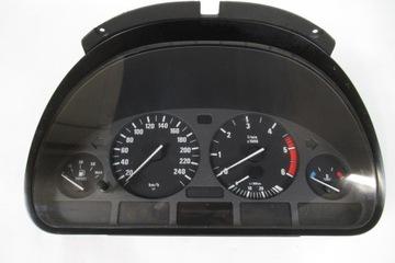 PŘÍSTROJOVÁ DESKA BUDÍKY BMW E39 EVROPA 2 0 2 5 3 0 M51 M57 zánovní