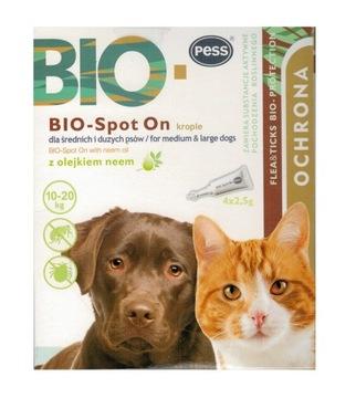 Капли от блох для кошек и собак до 10-20 кг