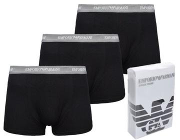 Orginalne bokserki Emporio Armani 3 pack r. S