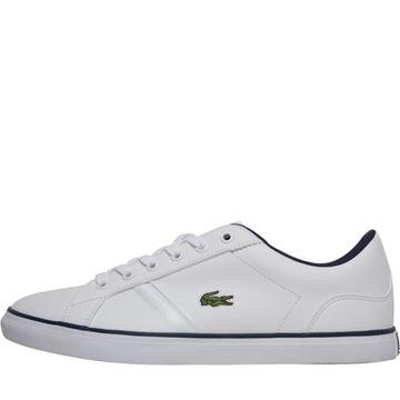 Białe trampki damskie Adidas nike court ze skóry wiązane w