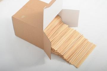 Палочки для мороженого деревянные узкие 19см 1000 шт.