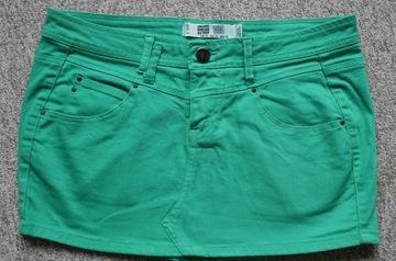 ZARA TRF zielona świetna wygodna spódniczka 40