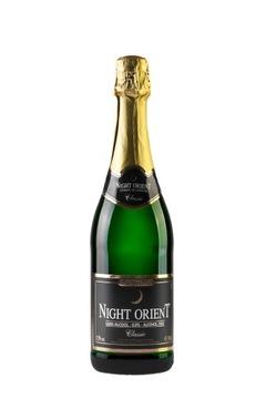 NIGHT ORIENT Безалкогольное (полусухое) шампанское