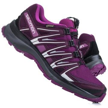 Fiolet* w Sportowe buty damskie Salomon Allegro.pl