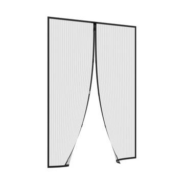 Сетка москитная сетка для двери с магнитом - 160х230см