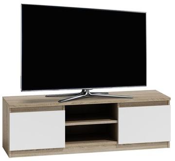 СТОЛ ДЛЯ ТВ LCD TV CABINET 120CM * WHITE-OAK SONOMA MIX