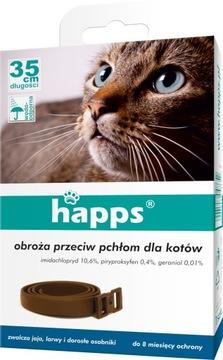 Ошейник от блох HAPPS для кошек
