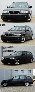 BMW Seria 3 E46 Touring 318 d 115KM 2005 SUPER E46 OPŁACONE 2.0D LIFT NAVI KLIMA ALU GWARA, zdjęcie 1
