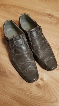 półbuty męskie skórzane Memphis, buty, rozm. 43 Lublin