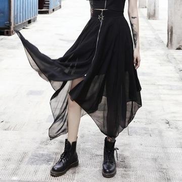 Goth w Spódnica inny Spódnice i spódniczki Moda damska