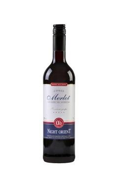 NIGHT ORIENT Красное безалкогольное вино 0%