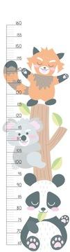 Наклейка на стену детской измерителя роста