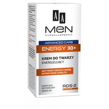 AA Men Advanced Care 30+ krem energizujący 50 ml