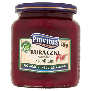 Свекла Provitus Fit обжаренная с яблоками 480 г