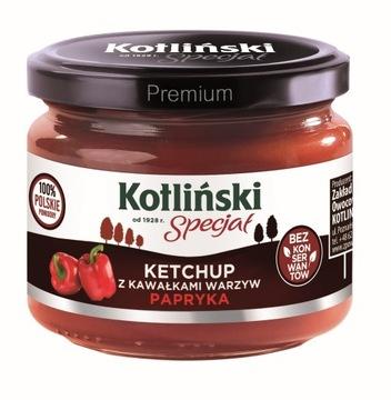 Кетчуп Котлинский с кусочками овощей-перца 310 г