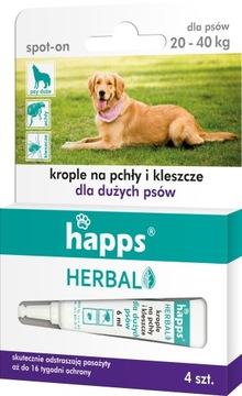 Капли от блох и клещей для собак Happs