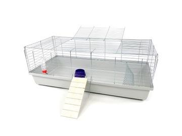 Клетка для свиней и кроликов платформа 120 см + бесплатно