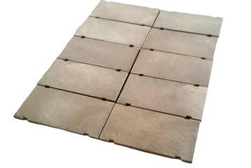 H0 - Бетонные дорожные плиты окрашенные 10 шт.