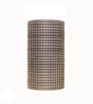 Сетка сварная оцинкованная, 19x19xd1,4, h / 0,5x25