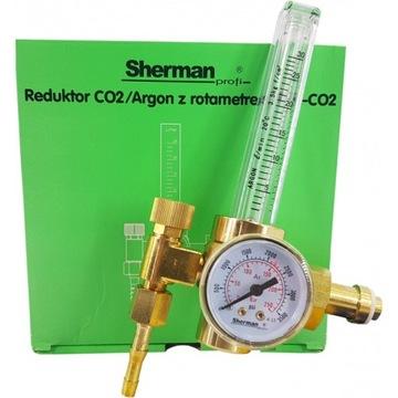 Регулятор газа Ar / CO2 с ротаметром RBR SHERMAN FV