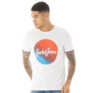 JACK&JONES markowa koszulka bawełna Tshirt - M