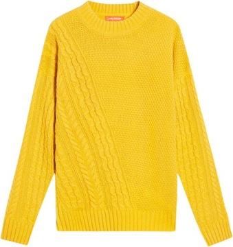 Miodowy sweter__ 38 w Swetry damskie Allegro.pl