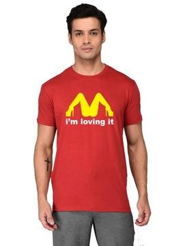 Koszulka męska McDonald's sex I'm loving it