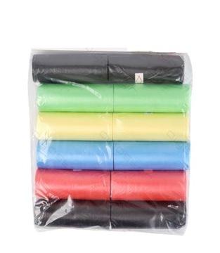 Разноцветные сумки для собак 12 шт. В упаковке.