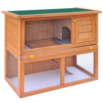 Клетка для кроликов и зверюшек, 1 дверца