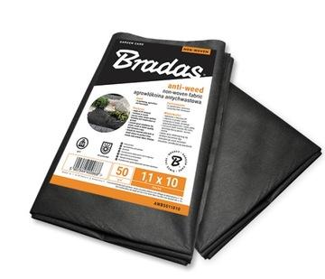 BRADAS 1.6x10 агротекстиль Antichwast черный