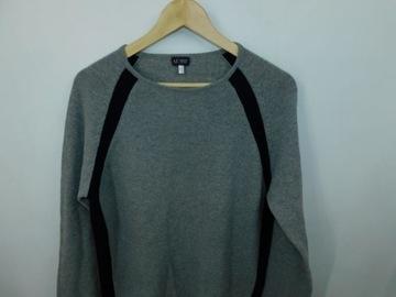 Armani Jeans sweter męski L wełniany wełna 100%