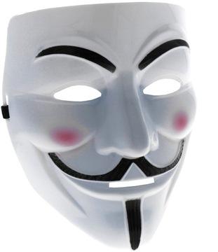 MASKA ANONYMOUS ACTA VENDETTA PROTEST HALLOWEEN